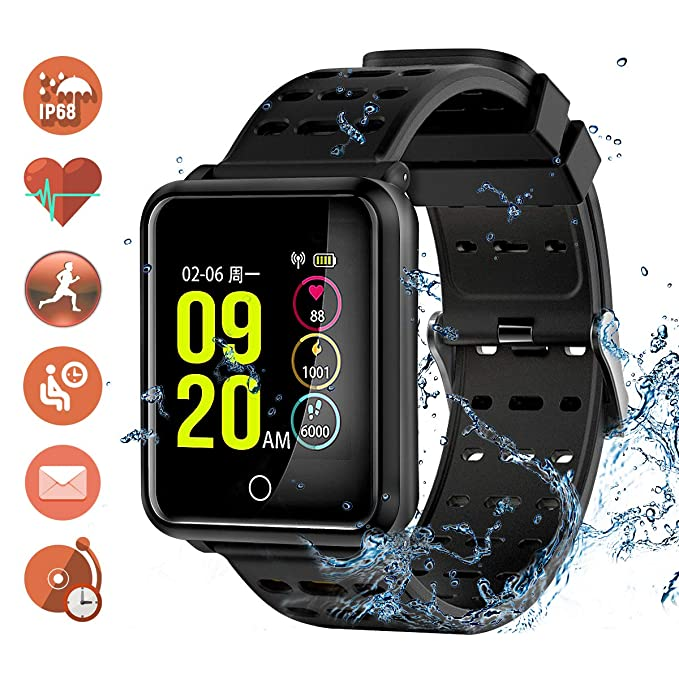 Tagobee TB06 IP68 a prueba de agua Smart Watch HD Touch Screen fitness tracker soporte de presión arterial frecuencia cardíaca Sleep Monitoring ...