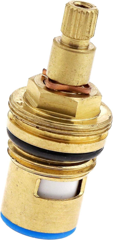 XILOSIN G 1//2 Sostituzione Tap 20 Denti Universale Valvole Ottone Ceramica Accendere Disc Cartridge Gland Inserisci Blu Rosso