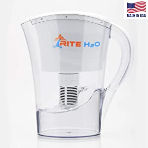 The Back Pedal Rite H2o Water Filtration System – Naturally Produces Alkaline from Your tap. Filter: Organic, inorganic, Toxic Chemicals and Aesthetic contaminates. Made in USA