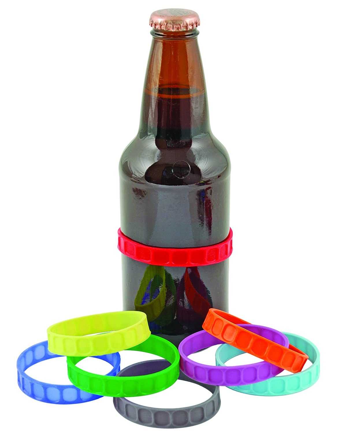 amazon com stretch can and bottle markers by true barware