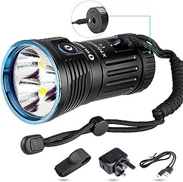 Olight X7R Marauder 12000 Lumen Super Bright LED Rechargeable Search Flashlight