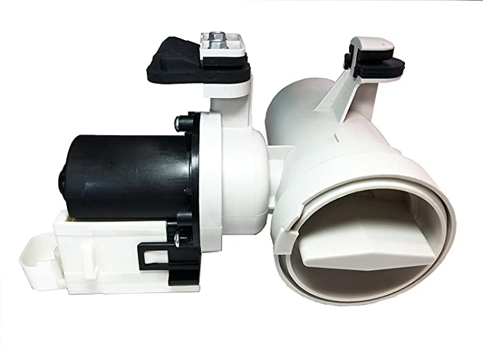 NEW W10130913 Whirlpool Compatible Washer Drain Pump for MAYTAG, KENMORE, W10130913-B, 8540024-B, W10117829, AP4308966, PS1960402-2 YEAR WARRANTY