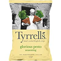Tyrrell's Pesto & Parmesan Potato Chips, 150 g
