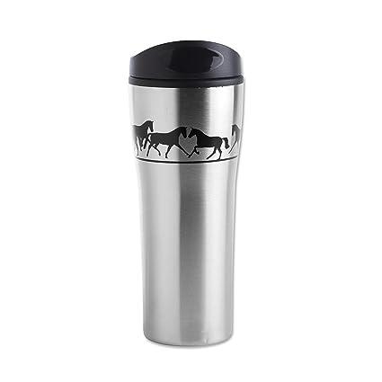 Amazon.com: Jumper aluminio botella de deporte w/mosquetón ...