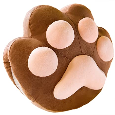 Amazon.com: Lovely de huellas de gato fundas de Comfy ...