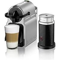 Nespresso Inissia Espresso Machine by De'Longhi with Aeroccino, Silver