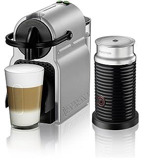 Nespresso Inissia Espresso Machine By Deu0027Longhi With Aeroccino, Silver