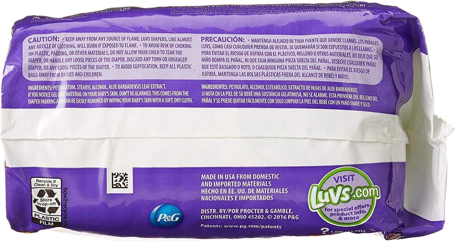 252 Count One Month Su Luvs Ultra Leakguards Disposable Diapers Newborn Size 1