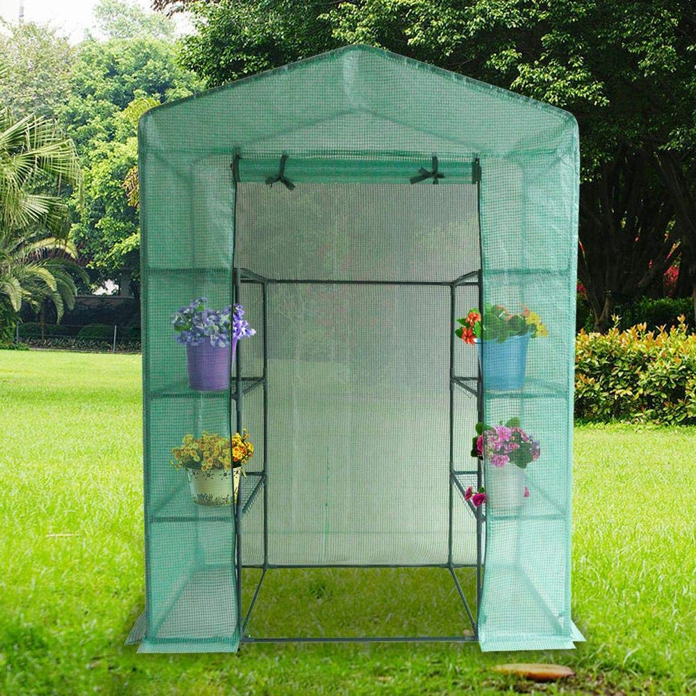 Garden Green House for Outdoor Indoor Use Large Walk-in Plant Greenhouse PVC Greenhouse Plant Cover 1pcs
