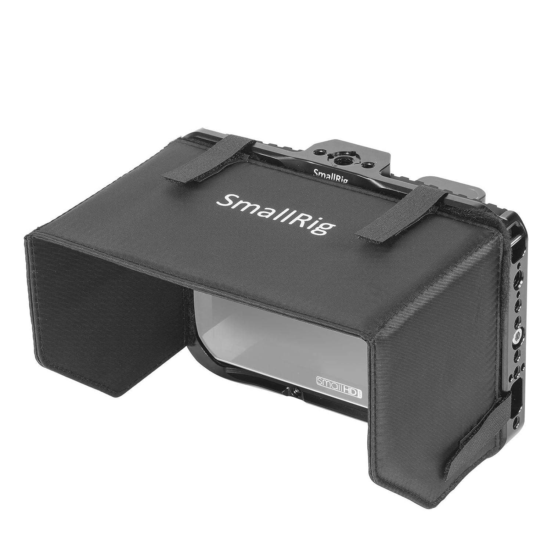SMALLRIG - Jaula para Monitor con Parasol para SmallHD Focus 7 ...