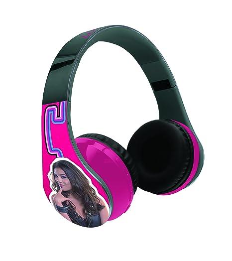 Chica Vampiro Casco estéreo con Micro Integrado, Bluetooth 3.0, Auriculares inalámbricos (Lexibook BTHP400CV