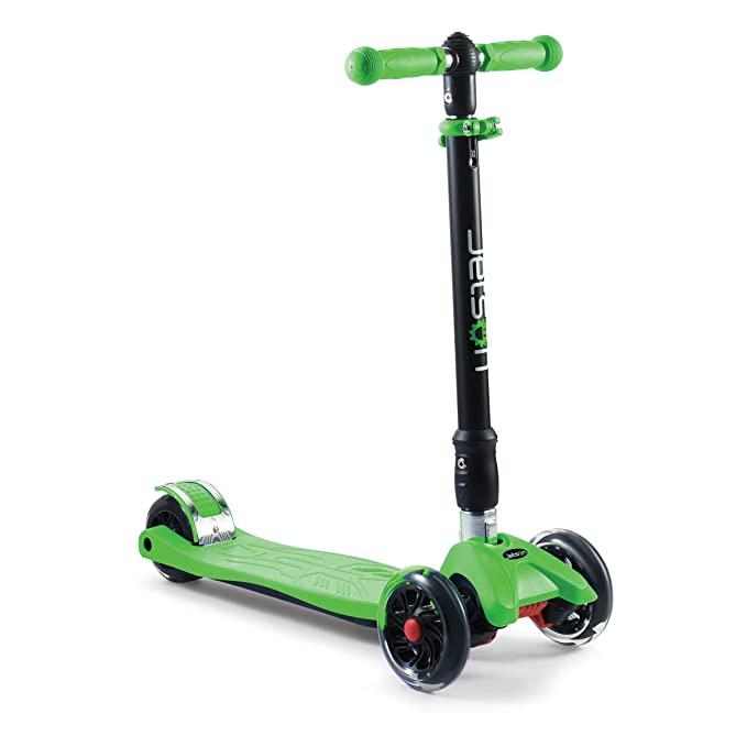 Amazon.com: Jetson individual 4-Wheel plegable Kick Scooter ...