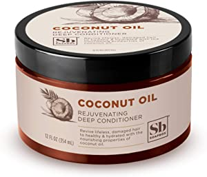 Soapbox Deep Conditioner, 12 oz Jar, Hydrating Deep Conditioning Hair Treatment for Natural, Curly, Dry or Damaged Hair   Sulfate Free, Paraben Free, Cruelty Free, Silicone Free, and Vegan