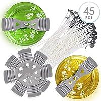 45 Piezas Kit de Fabricación de Velas, 30