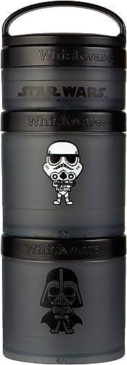 Whiskware Star Wars Stackable Snack Pack, Darth Vader & Storm Trooper