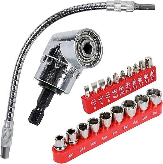 """Länge 300mm 1//4/"""" 1 Stk Flexibler Bithalter Bithalter- Welle"""