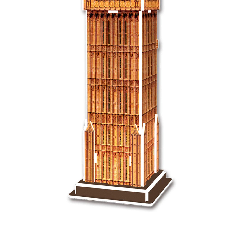 S3015h Cubic Fun 3d Puzzle Model London Big Ben 13pcs 3d Puzzle Place