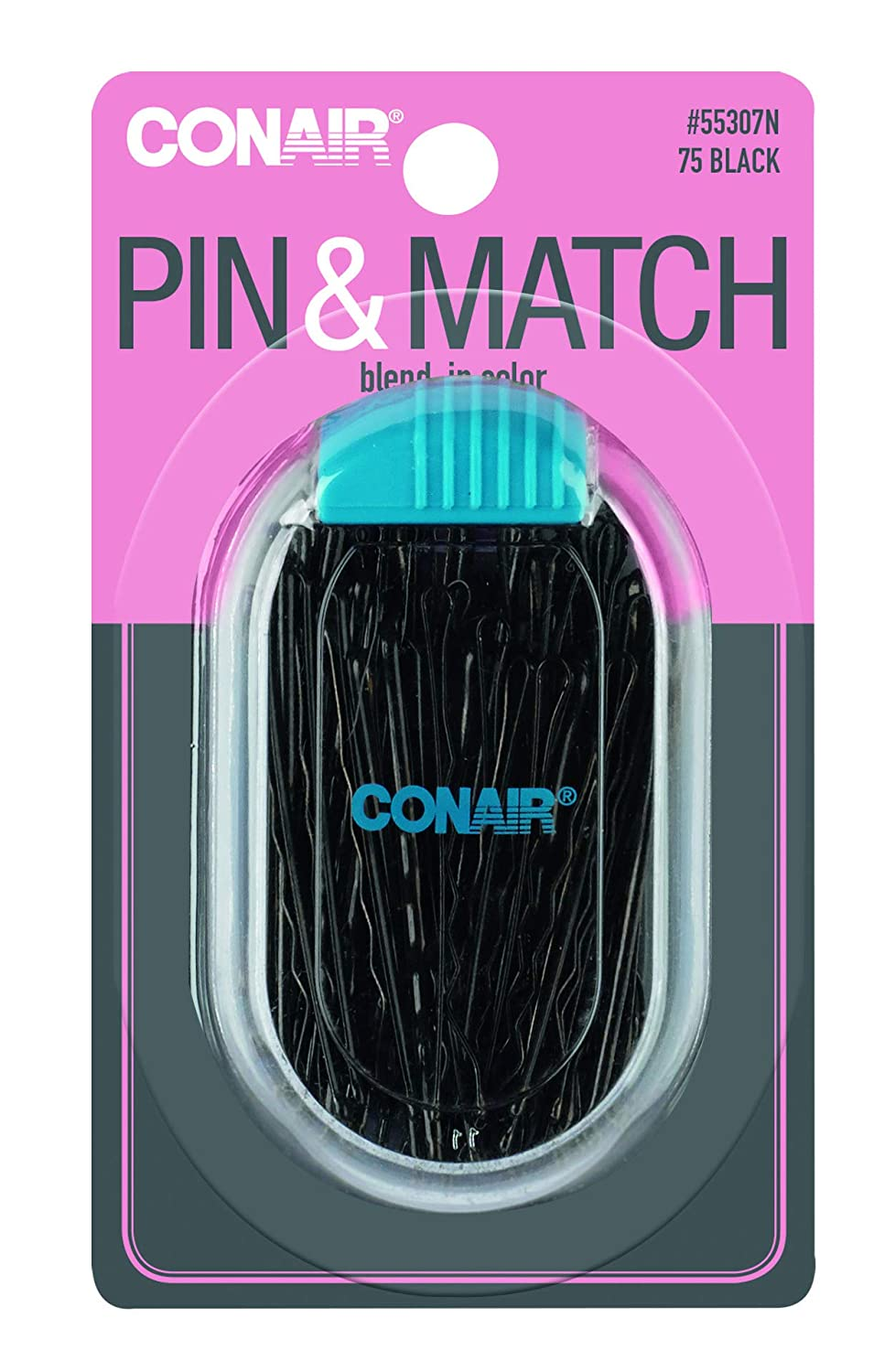 Conair - Bobbypin Case - Black 75.00 ct