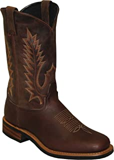 "product image for Abilene Men's Sage by 11"" Cowhide Western Boot Square Toe Brown"