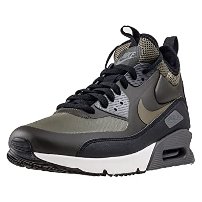 d928afa5f9 Nike Air Max 90 Ultra Mid Winter Mens Hi Top Trainers 924458 Sneakers Shoes  (UK