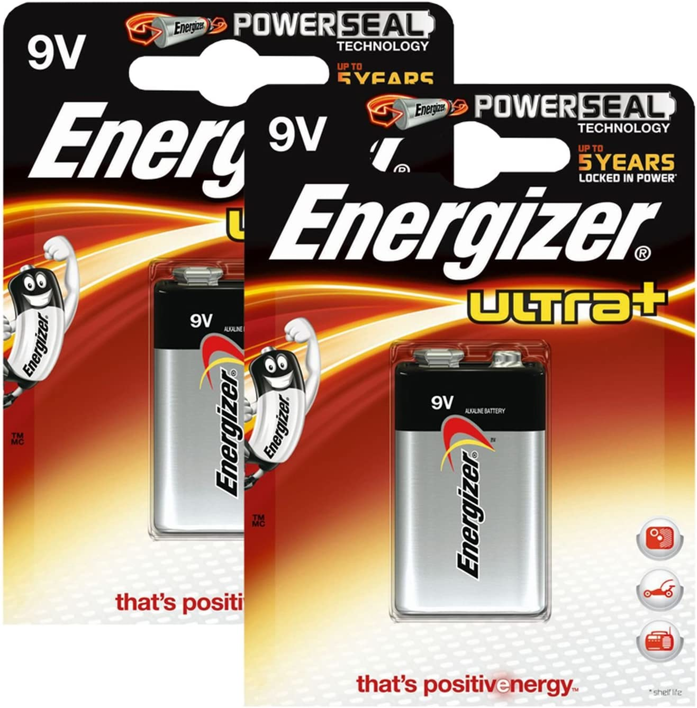 Energizer Original Battery Ultra Plus E Block 9 Volt 2x Elektronik
