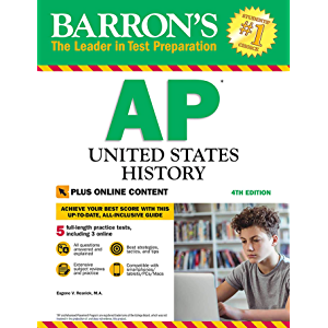 AP United States History with Online Tests (Barron's Test Prep)