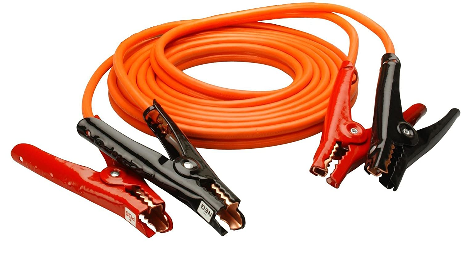 16 Feet Coleman Cable 08566 6-Gauge Heavy-Duty Booster Cables