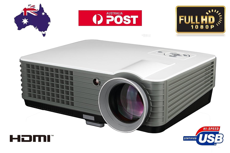 Home Use S88 Projector 1080p 4000 Lumen Theater Full Hd Fr qSpGMUVz
