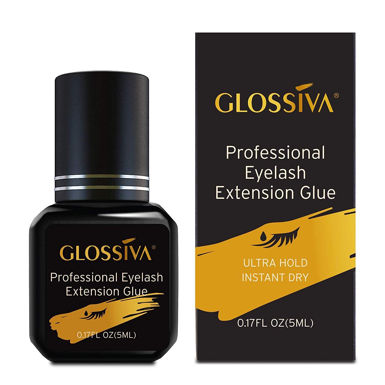 Glossiva Extra Strength Eyelash Extension Glue - The Best Glue For Eyelash Extension