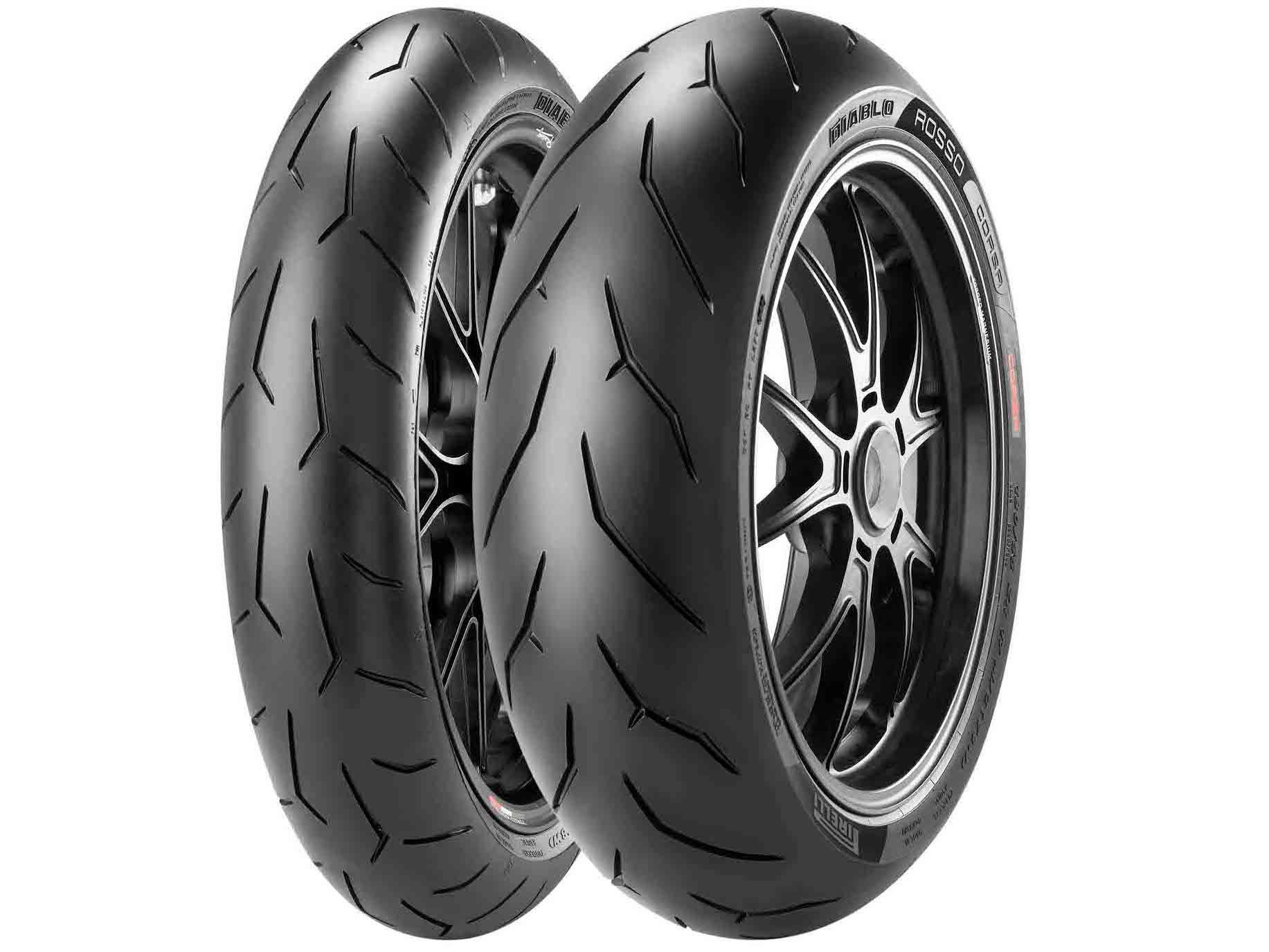 Pirelli Diablo Rosso Corsa Tire - Rear - 200/55ZR-17 , Position: Rear, Rim Size: 17, Tire Application: Race, Tire Size: 200/55-17, Tire Type: Street, Load Rating: 78, Speed Rating: W, Tire Construction: Radial 2321800