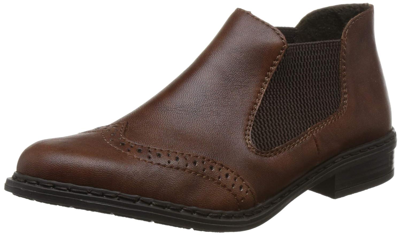 Rieker Lucia Womens Flü gelspitze Chelsea-Ankle-Boots 52093