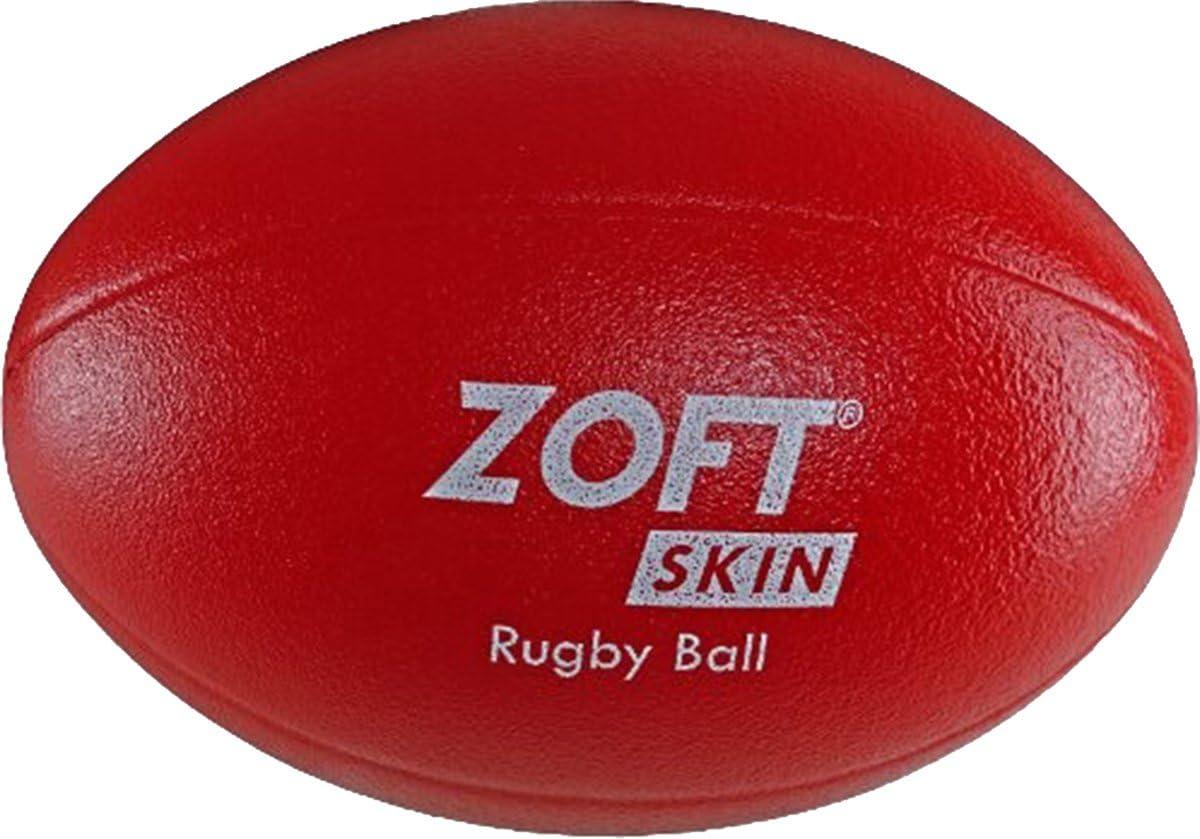 zoftskinバレーボールバスケットボールサッカーラグビー高密度フォームボールハンドボール Rugby (228mm (9\
