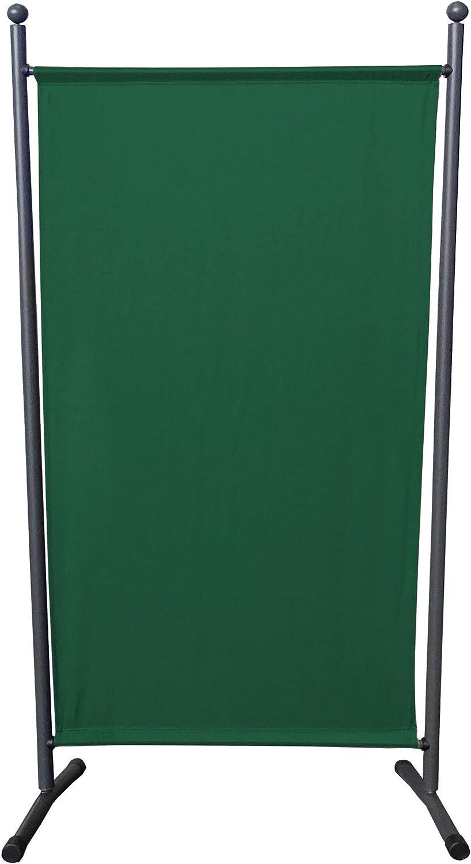 QUICK STAR Paravent 180 x 78 cm tela separador de ambientes partición jardín grande Biombo tabique balcón privacidad Verde: Amazon.es: Jardín