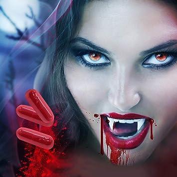 Aiva Toba 11 Piezas Kit de Colmillos de Vampiro Dientes de Vampiro ...