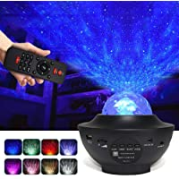 Night Light Galaxy Projector, 3 in 1 Star Projector with Bluetooth Music Speaker/Timer, LED Nebula Cloud for Baby Kids…