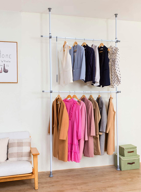 Closet Rod Garment Organizer