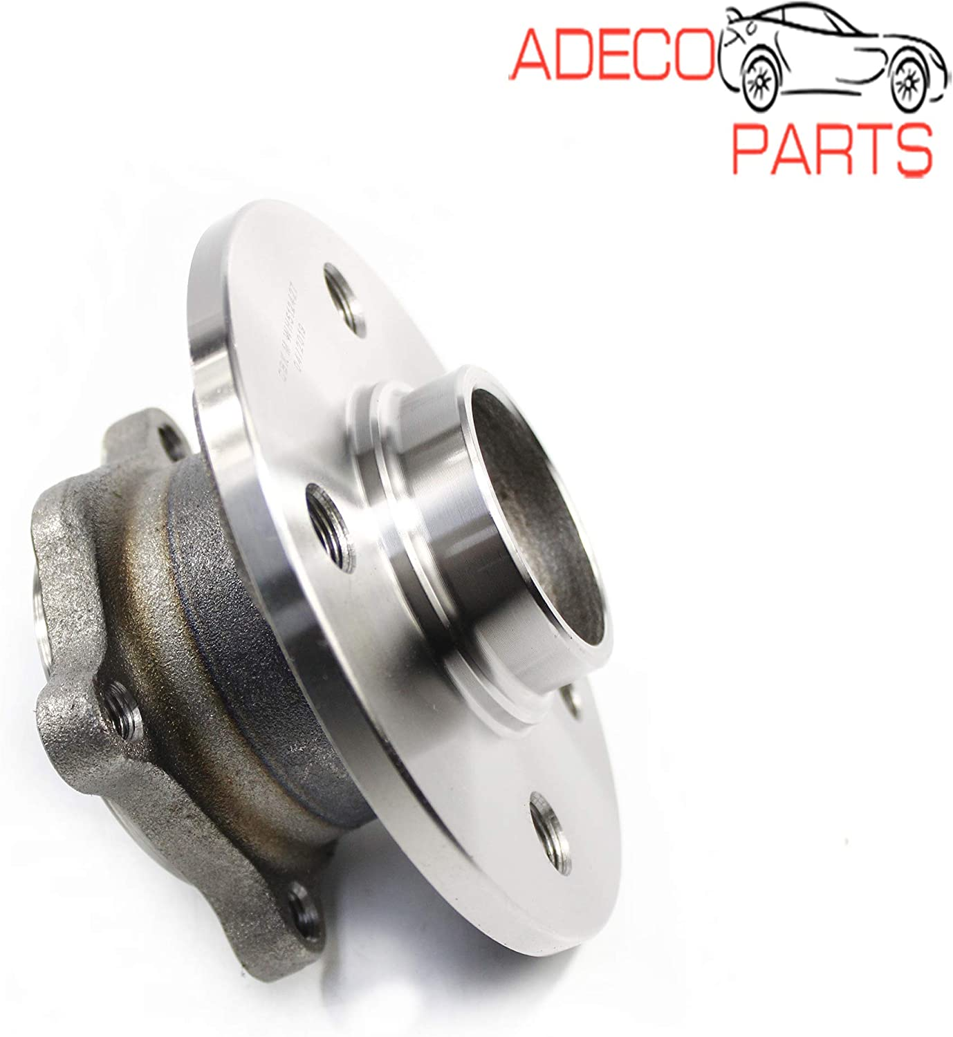 AdecoAutoParts/© Two Rear Wheel Bearing /& Hub Assembly 512427 BR930763 for Mini Cooper 2007 2008 2009 2010 2011 2012 2013 2014 2015 4 Stud Pattern
