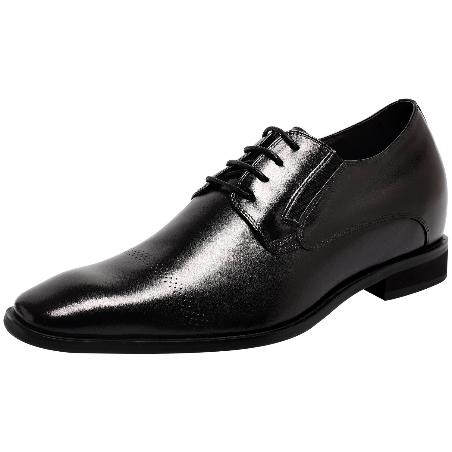 CHAMARIPA Elevator Dress Lace Oxford Brogues Shoes Height Increasing Shoes 2.76'' Taller US 10