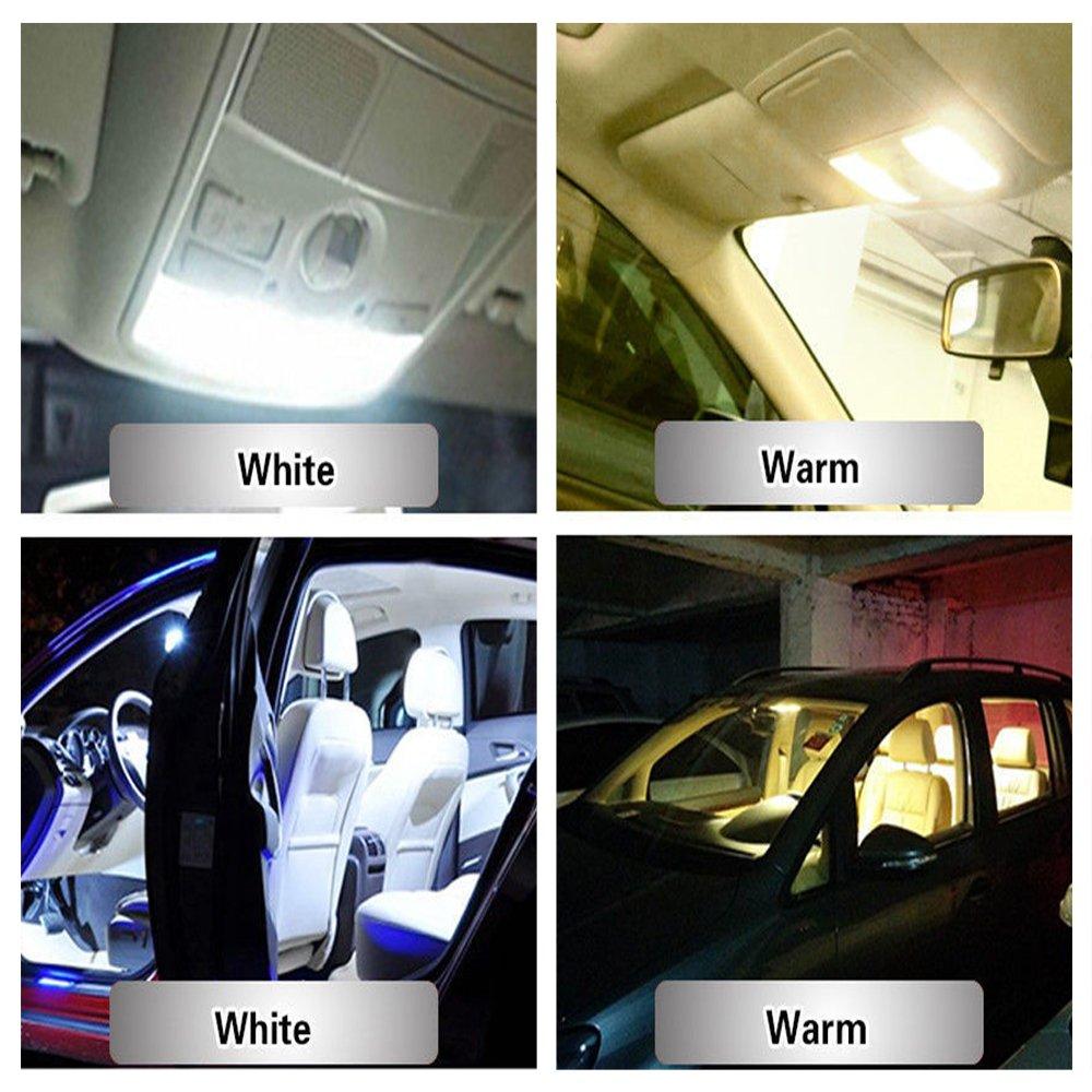4332998407 DGCUS 20 x RV Trailer T10 921 194 42-SMD 12V Car Backup Reverse LED Lights Bulbs Warm White Warm White