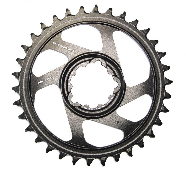 Sram Kettenblatt X-Sync 12-f., 34-Z. Alu Direct Mount offset 6mm schwarz Fahrrad