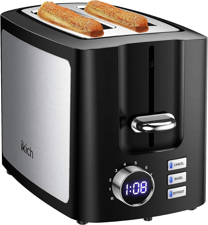 IKICH Toaster 2 Slice Toasters