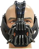 XCOSER Men's Bane Mask Costume Props TDKR Full Adult Size - 3D Version V9 2016