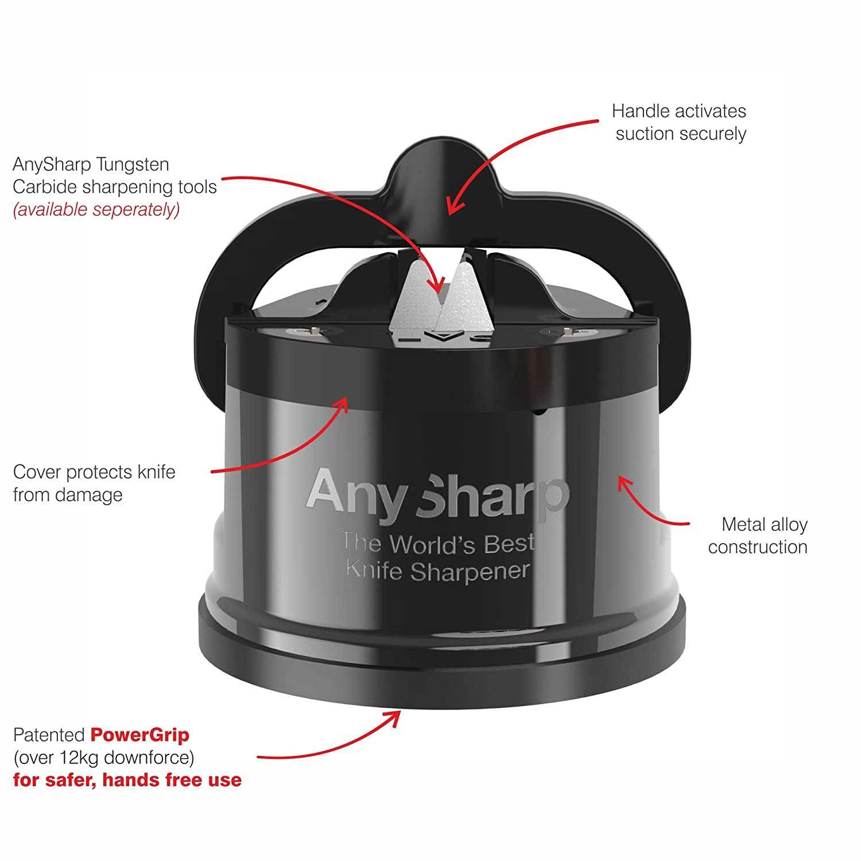Amazon.com: AnySharp Pro Chef - Afilador de cuchillos de ...