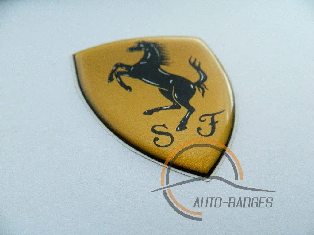 Ferrari escudo insignias Classic Vintage coches Emblema