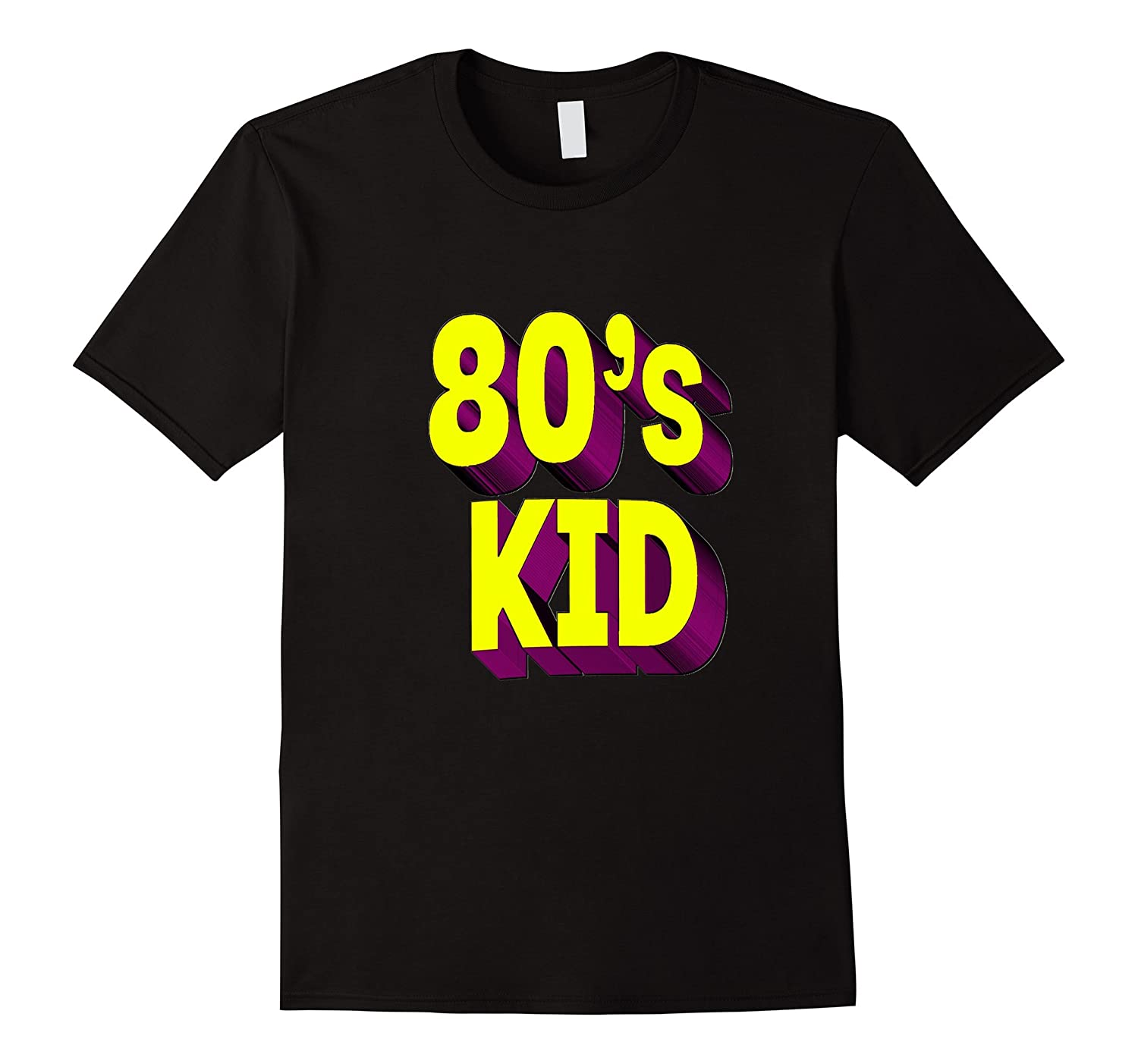 80's Kid Shirt - Born in the 80s, 1980s for Mens Womens-CL