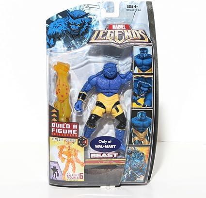Marvel Legends Exclusive Nemesis Build-A-Figure Wave Action Figure Beast by Hasbro: Amazon.es: Juguetes y juegos