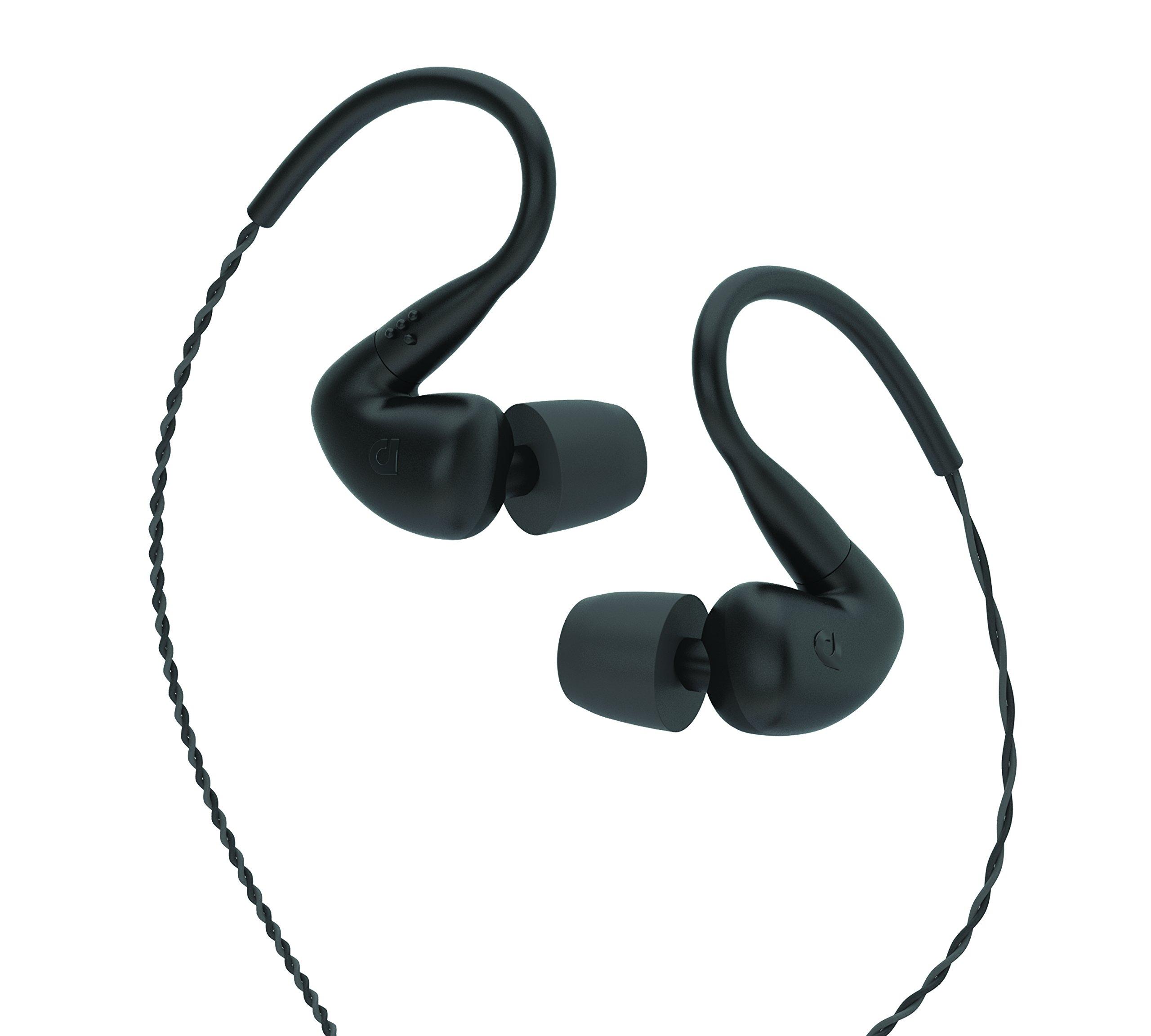 AudioFly - AF120 Hybrid Dual Driver Universal In-Ear Monitors - Roadie Black