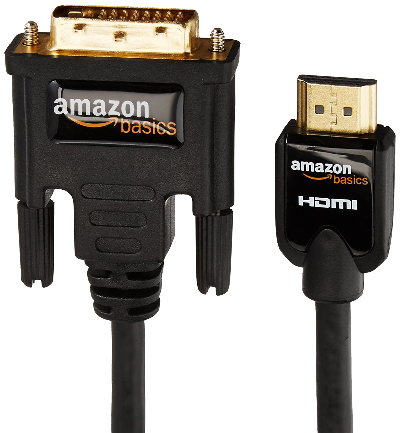 Amazonbasics Hdmi To Dvi Adapter Cable 3 M 98 Feet Pin Firewire 400 Likewise Usb Laptop Tv On Computers Accessories