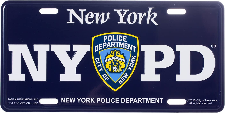 /Departamento de Polic/ía de Nueva York oficial /recuerdo de la matr/ícula/ NYPD/