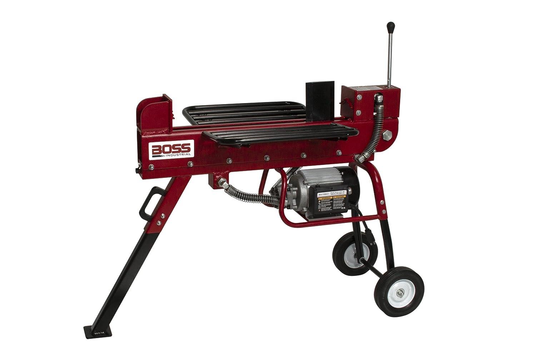 4. Boss Industrial ED10T20 Electric Log Splitter – 10 ton electric log splitter